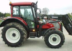 Valtra C110 MFWD (red) - 2004