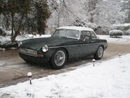 1973 MGB 'Tourer' fitted with 'Factory Hardtop'