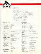 A 1960s Mack Trucks GB Limited Mechanical Information Catalogue
