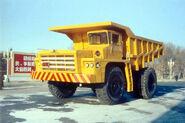 A 1970s JIEFANG CA390 V12 Mining Dumptruck