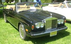 '88 Rolls-Royce Corniche Convertible (Hudson)
