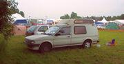 Austin Maestro campervan - front