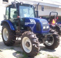 Farmtrac 8060 DT MFWD-2007
