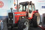 Massey Ferguson 699 reg D127 YAB at Malvern 09 - IMG 5902
