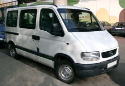 Opel Movano front 20071029