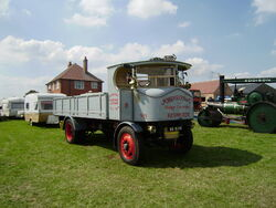 Sentinel steam lorry no7651