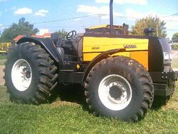 Valtra BH160 MFWD (yellow) - 2006