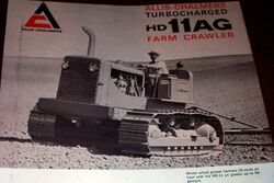 AC HD-11AG crawler b&w brochure