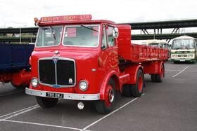 AEC Mercury 4x2 - 785 BWJ + Carrimore trailer at SYTR 11 - IMG 7928
