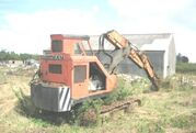A 1970s Priestman Brothers Caribou Excavator