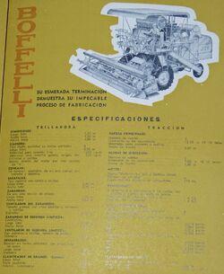 Boffelli J24 combine b&w brochure