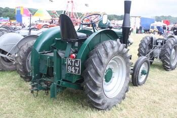 Field Marshall no. 4187 reg KTJ 947 at Scorton 09 - IMG 5083