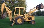 Ford 555A backhoe - 1988