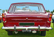 Ford Zephyr 213E tail