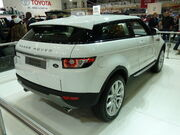 Range Rover Evoque 3-door wagon, prototype (2010-10-16) 03