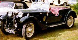 Riley Nine Lynx Tourer 1933