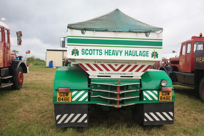 Scammell Contractor GDW 848E of Scotts (rear) at Scammell Gathering 09 - IMG 9286