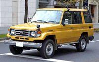 Toyota Land Cruiser HZJ76HV 001