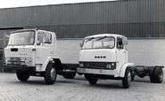 1980s EBRO P137 and EBRO E110 Diesel trucks