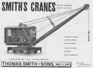 A 1910 Smith Of Rodley Railway Shuntercrane