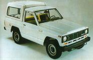 A 1980s Ebro Patrol 2800 Diesel Van 4X4