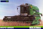 Deutz-Araus Maxima combine brochure - 1996
