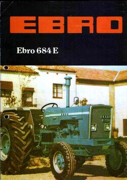 Ebro 684-E (blue) brochure