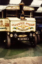 Yorkshire steam wagon, Pendle Laddie, front