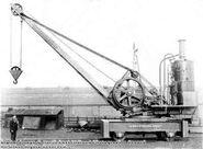 1890s Coles Railway Steamcrane