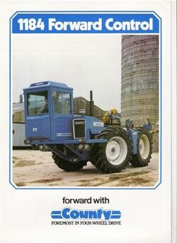 County 1184 FC 4WD brochure