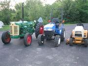 Farm Tractor vs CUT vs Garden Tractor