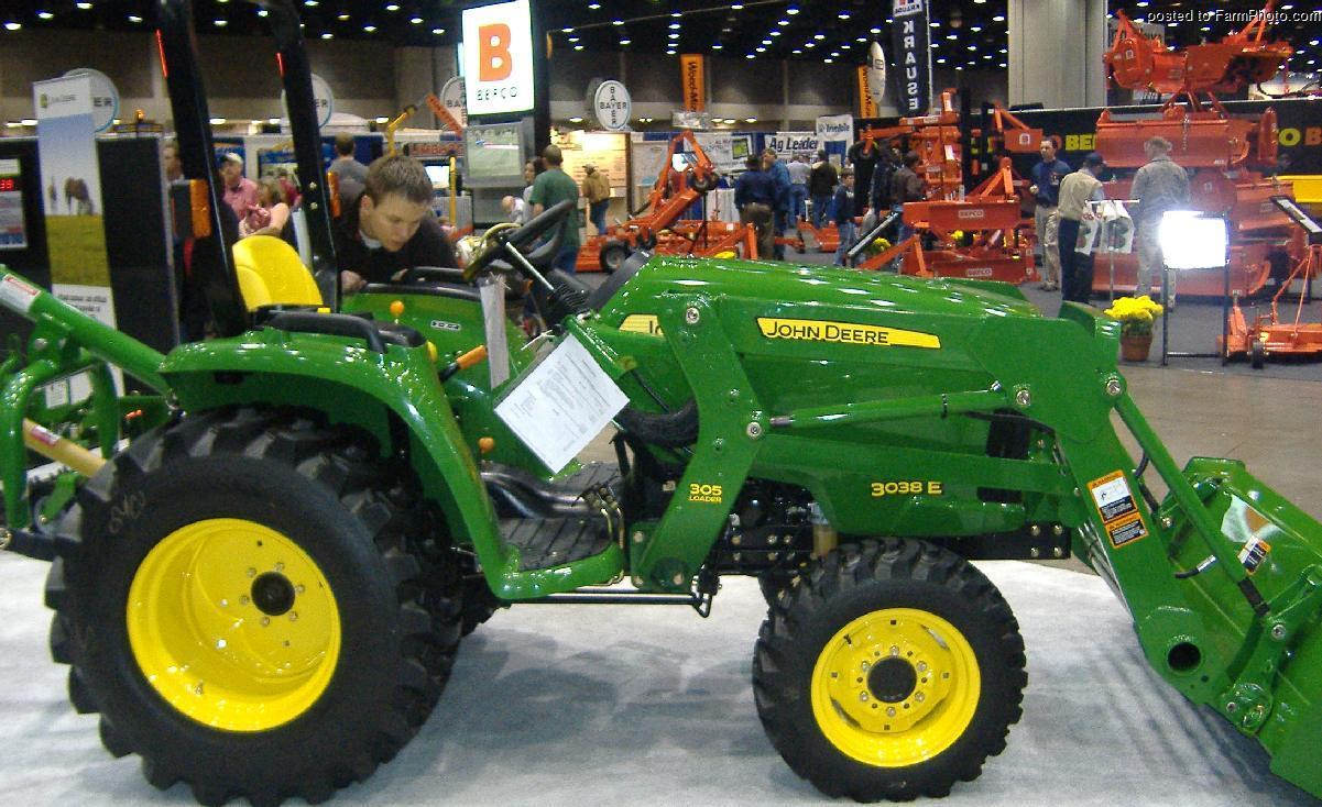 John Deere 3038 E Tractor Amp Construction Plant Wiki