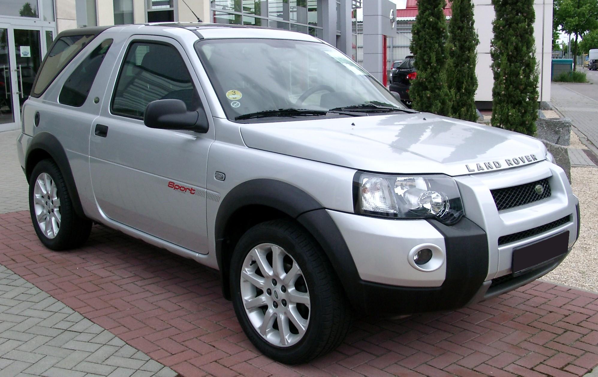 Image Land Rover Freelander front