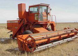 White 5542 combine
