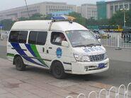 一辆在北京的城管执法车辆a