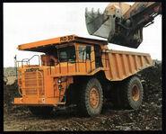 A 1980s Aveling Barford RD50 Dumptruck Diesel