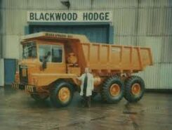 A 1984 HAULAMATIC 615 TD Dumptruck