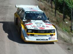 Audi Quattro - 2007 Rallye Deutschland (cropped)