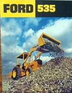 Ford 535 Industrial brochure