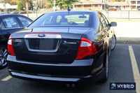 Ford Fusion Hybrid 7887 VA 11 09 with badging