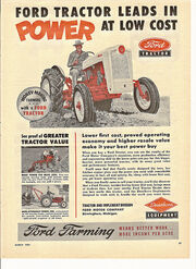 Ford Tractors | Tractor & Construction Plant Wiki | FANDOM powered