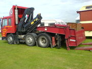 Hiab 250 crane on tractor unit - DSC00065