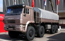 Kamaz-6560 truck, IDELF-2008
