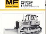 Massey Ferguson 600C crawler