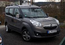 Opel Combo 1.6 CDTI Edition (D) – Frontansicht, 18. März 2012, Wuppertal.jpg