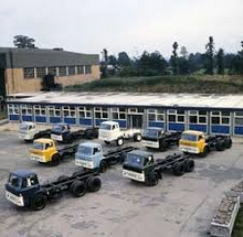 VICKERS-AWD Factory Yard in the 1980s
