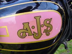 AJS logo 1929 M6 6