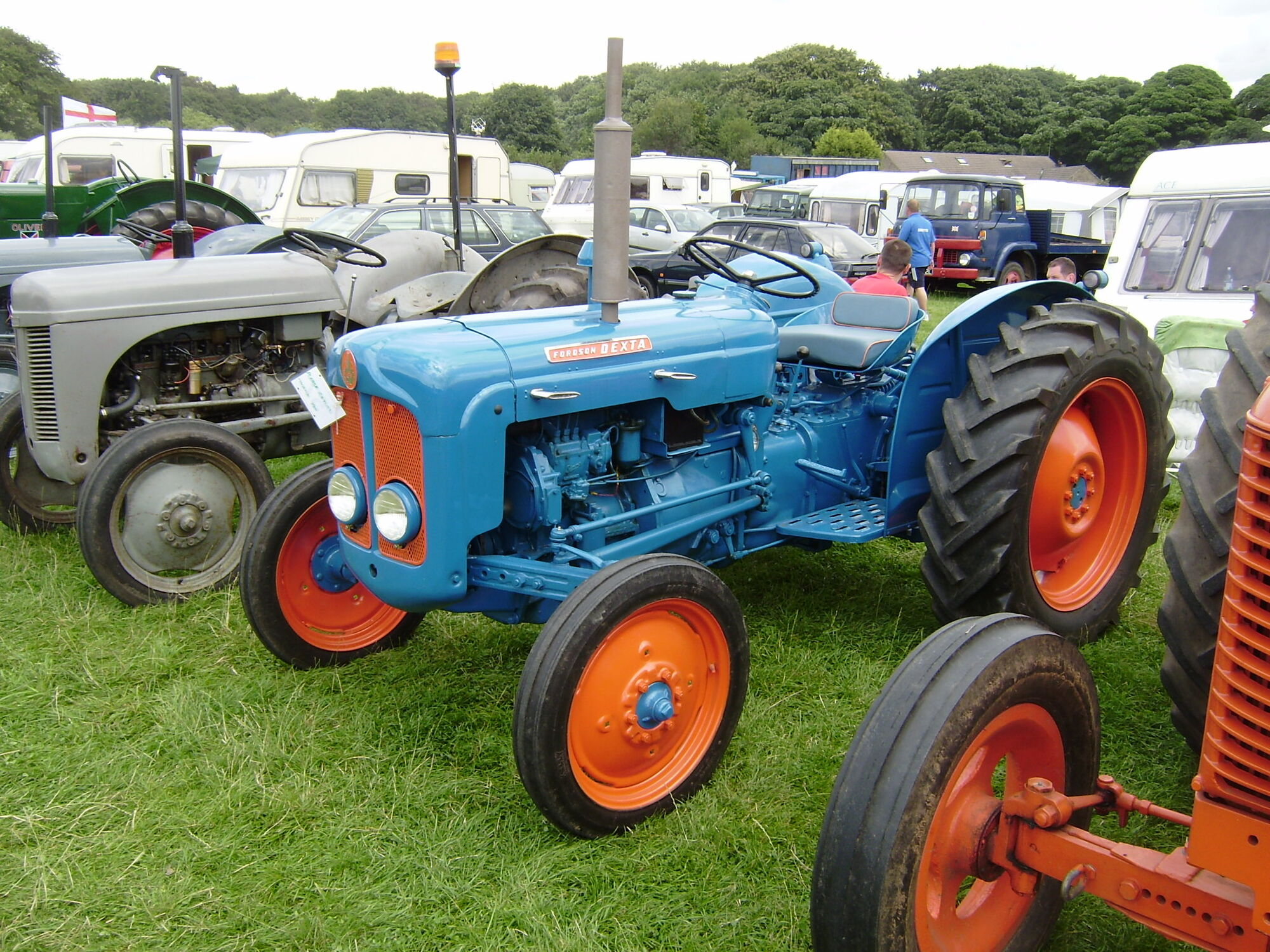 1958 Ferguson Tractor Attachments : Fordson dexta tractor construction plant wiki fandom