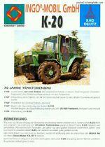 Kirovets K-20 MFWD (green)