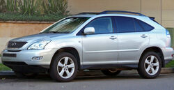Lexus RX 330 (MCU38R) Sports Luxury view